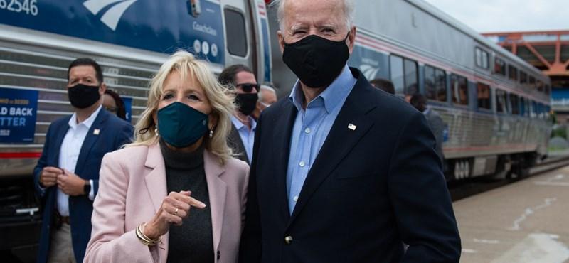 Negatív lett Joe Biden koronavírustesztje