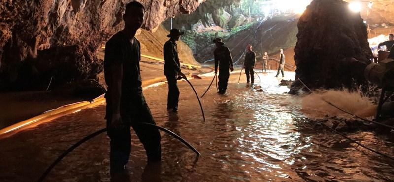 Thai miniszterelnök: Népszerű turistacélpont lesz a barlang, ez biztos