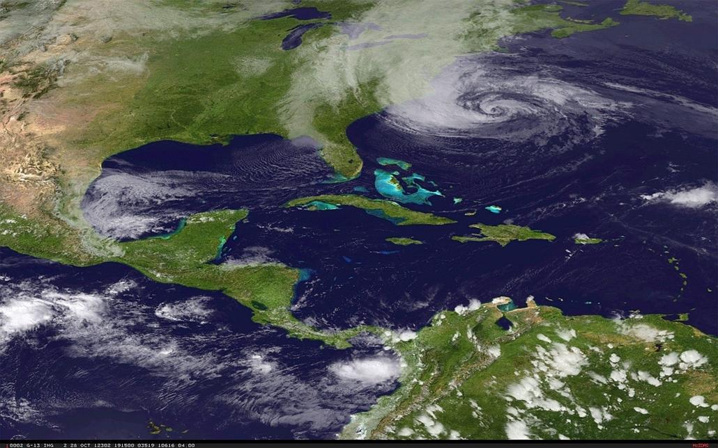 Sandy hurrikán az Egyesült Államokban - érkezés előtt
