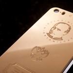 Ugye kitalálja, melyik politikus arcképével árulnak arany iPhone-t?