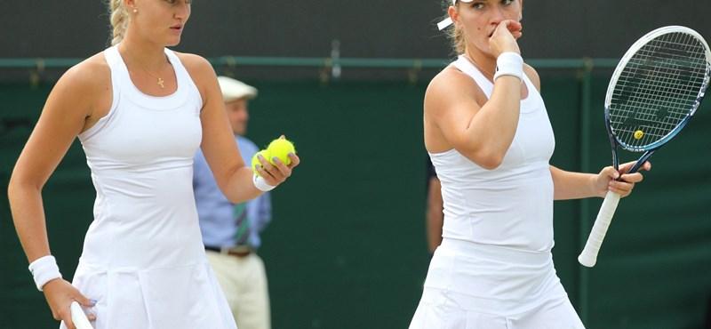 Tenisz: Babos Tímea döntős párosban Wimbledonban!