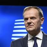 Tusk: Elkerülhetetlenül zavarok fognak keletkezni az EU-brit kereskedelemben