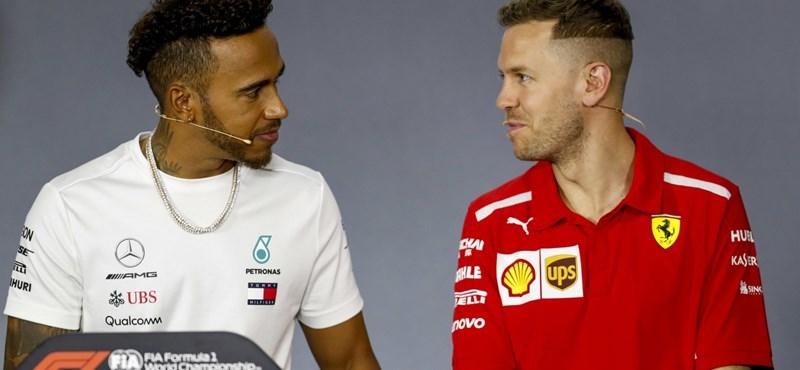 Sorozatban negyedszer Hamiltoné a pole pozíció Silverstone-ban