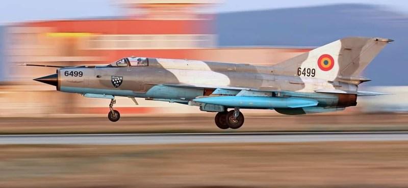 Lezuhant a román légierő egyik vadászgépe