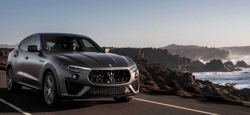 Vulkán és láva ihlette a Maserati új divatterepjáróját