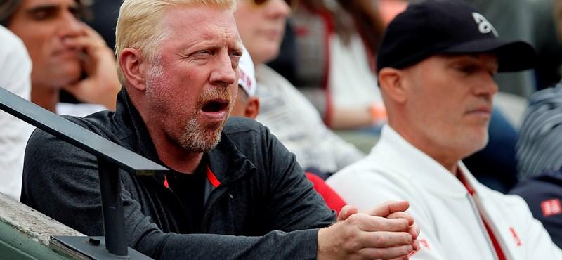 Valóságshow-ba szállna be a csődbe jutott Boris Becker, hogy egyenesbe jöjjön