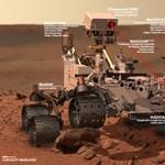 Észbontó fotókat várhatunk a Curiosity kameráitól