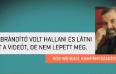 Kifizette az LMP Ron Werbert, vége a párt és a kampánytanácsadó perének