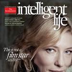 Cate Blanchett retusálás és Photoshop nélkül a The Economist címlapján