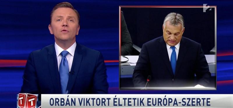 Újra az Orbánt istenítő Tv2-riporton görcsölhet a Médiatanács