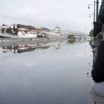 Budapest: átcsapott a víz a rakpart szélén