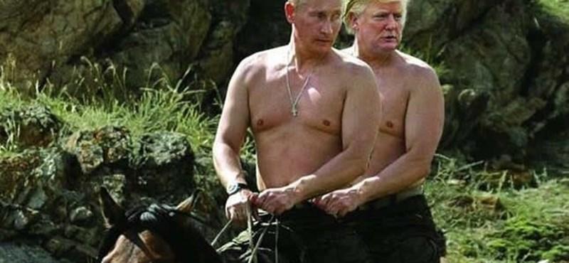 """""""Én nem mondom, hogy Trump KGB ügynök, de..."""""""