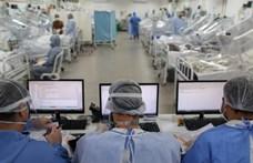 Egyetlen nap alatt 48 ezer új fertőzöttet találtak Brazíliában