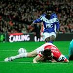 Óriási baki, az Arsenal játékosai a Twitteren kértek bocsánatot