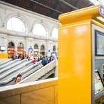 Több száz új jegyautomatát ígér jövő nyárra a MÁV-Start