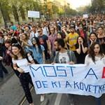 Újabb többezres demonstráció lesz ma Budapesten a lex CEU miatt, itt vannak a részletek