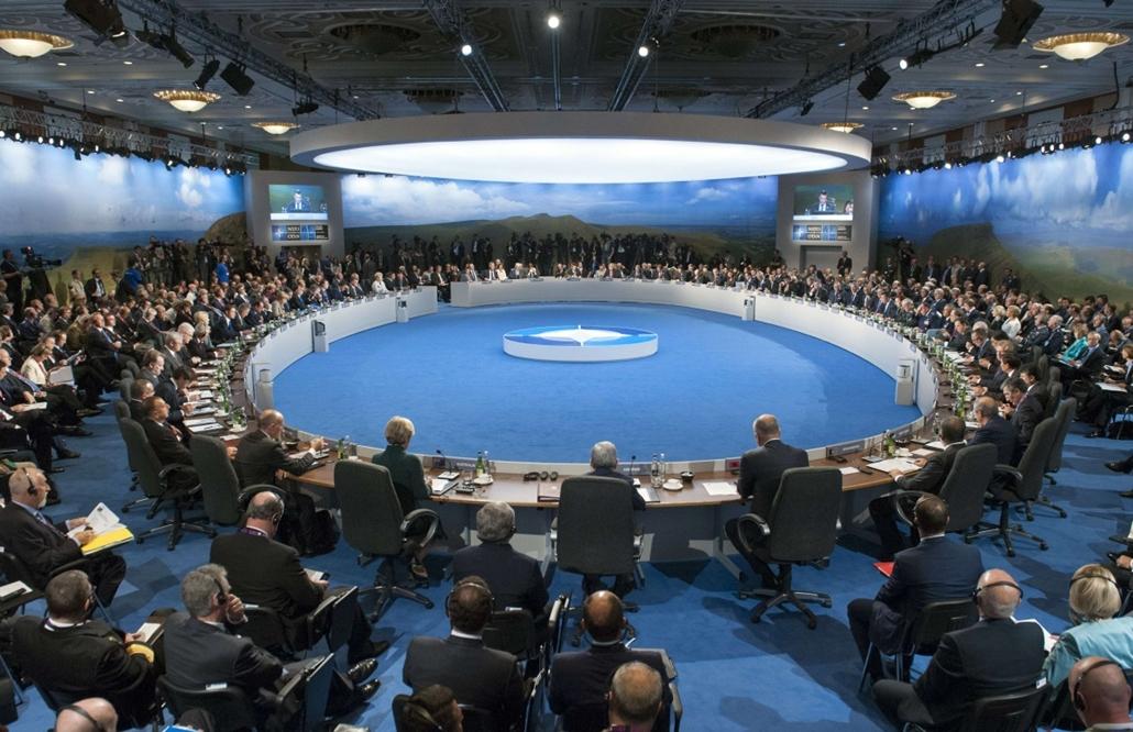 afp. Ukrán válság - NATO-csúcs Walesben 2014.09.04. NEWPORT