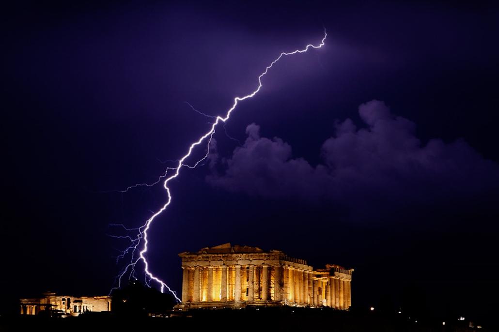 Villámlás vihar
