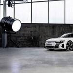 Kikerült néhány kép az Audi e-tron GT-ről a bemutatója előtt
