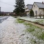 Jégeső zúdult Zalaegerszegre – fotók, videó