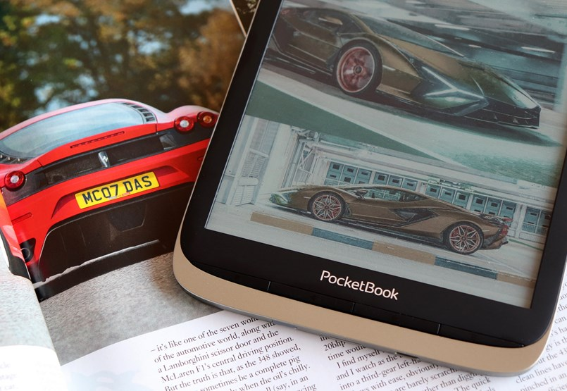 What does an e-book reader know when it comes to color?  Test the latest version of the pocket book