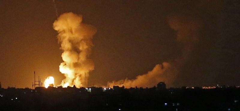 Tűzszünetet kötött Izrael és a palesztinok