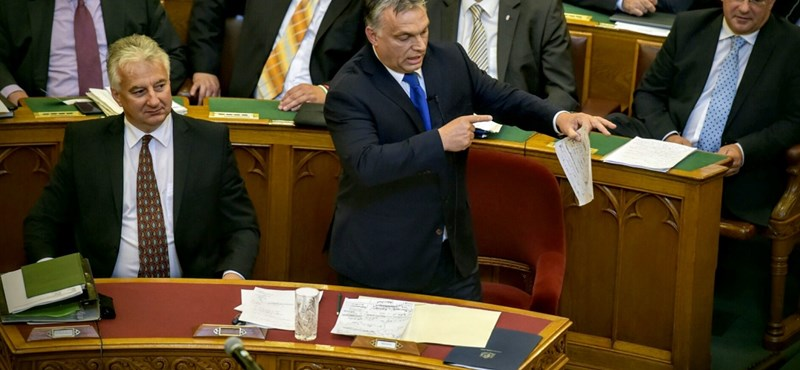 Így nem hallotta Orbán a korrupcióra vonatkozó kérdést