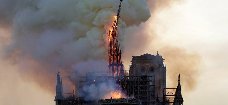 Azt hitték, megolvadt, de megtalálták a Notre-Dame rézkakasát