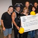 Milliókat adott az első romániai gyermekonkológiai klinika építésére a Metallica
