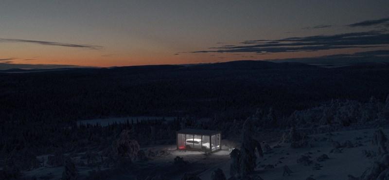 Van valahol a svéd hegyekben egy vadiúj Passat, aki megtalálja, viheti