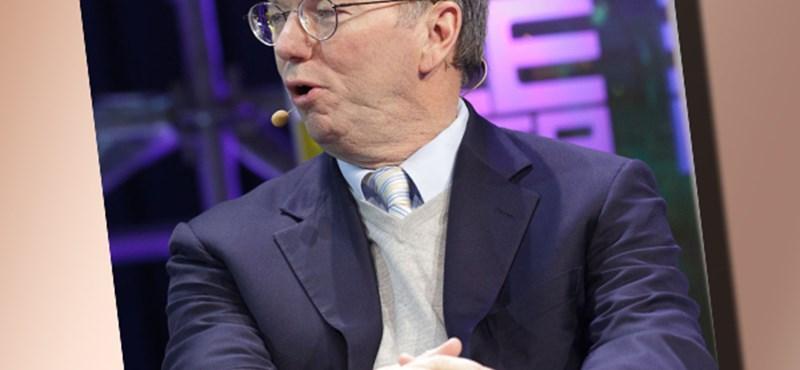 Eric Schmidt - lemaradnak a felhasználók az internet mögött