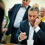 Orbán Viktor diétázott a kampány alatt