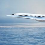"""Jön a szuperrepülőgép: 2700 km/h-val repülhet az új """"Concorde"""""""