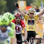 Videó: törött orral, eszméletlenül kerékpározott a Tour de France-on