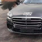 Kémfotók: roncstelepen kapták lencsevégre az új Mercedes S-osztályt