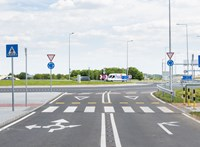 Átadták a kétsávos turbókörforgalmat a ferihegyi reptérnél