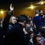Képek: több száz diák tart fórumot a színművészeti egyetemen