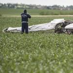 A pilóta hibája miatt zuhanhatott le a kisrepülő Kisapostagnál