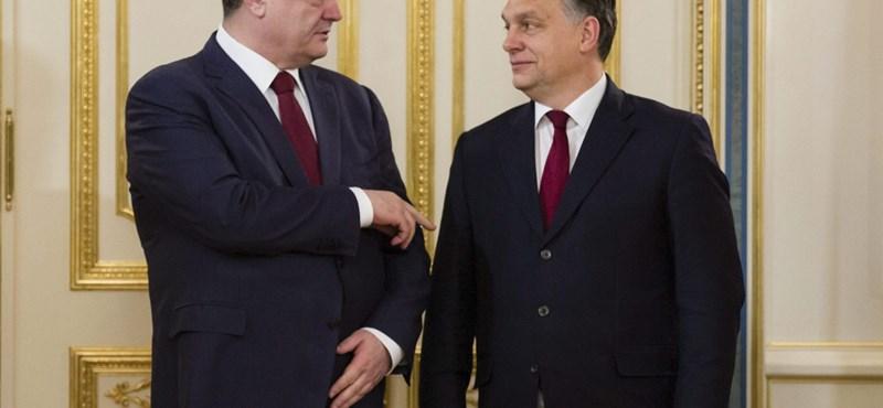 Fotó: Orbán Kijevben tárgyalt