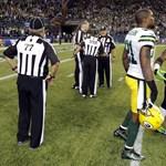 Erősen vitatható bírói döntésnek köszönheti a győzelmet a Seahawks - videó