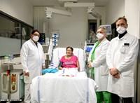 Műtüdővel mentették meg egy koronavírusos kismama életét, 69 nap után került ki az intenzívről