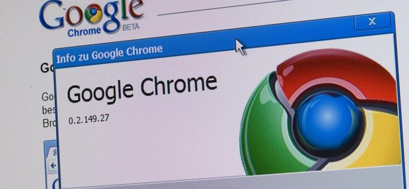 Érdemes lesz lecserélnie Chrome böngészőt, ha XP van a gépén