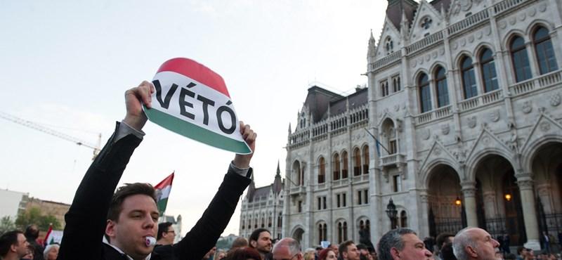 A kormány szerint nem történt szabálytalanság a lex CEU tárgyalása előtt