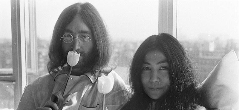 Ismeretlen felvétel került elő John Lennon és Yoko Ono amszterdami nászútjáról
