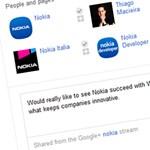 Google+ csevegés a keresési találatok között