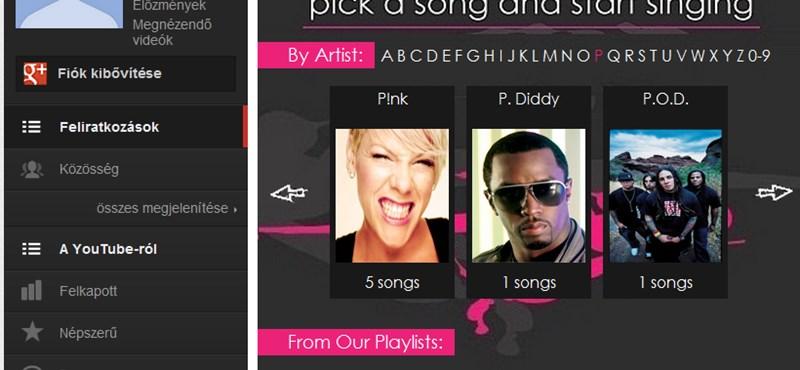 Így lehet pillanatok alatt karaoke-gép a YouTube-ból