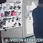 Videón a Bocskai úti ékszerüzlet kirablása: az elkövető egyszerűen elsétált