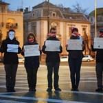"""""""A tudatlanság előny"""" - újra akcióztak a diákok"""