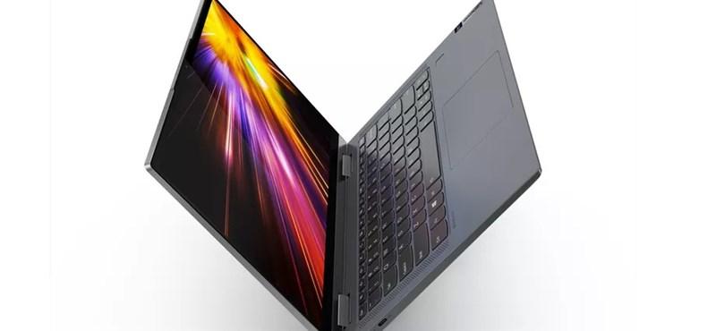 Az egy dolog, hogy a Lenovo új laptopja 24 órán át bírja egy feltöltéssel, de még 5G is van benne