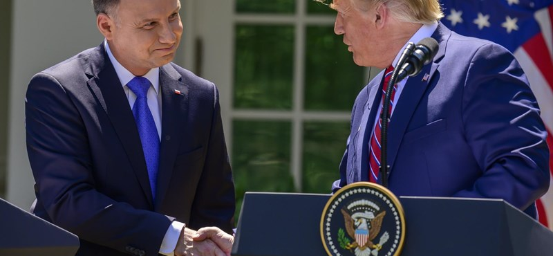 Trump újabb katonákat küld Lengyelországba